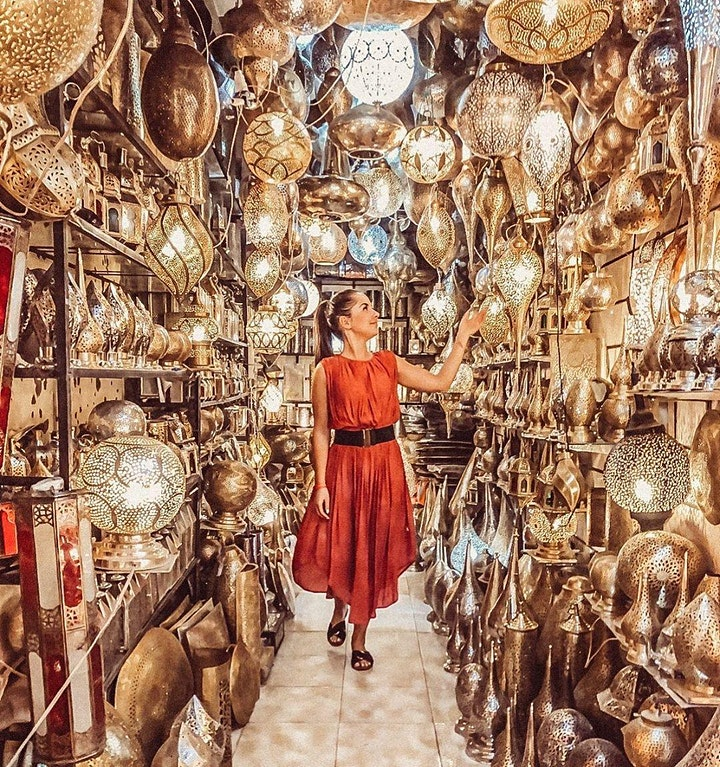 Virtual Live Tour of Marrakech Morocco with Real Guide (1 Hour) image