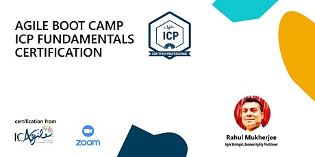 Agile BootCamp - ICAgile Certified Professional- May tickets