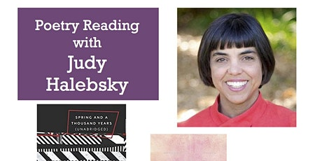 Poetry Reading with Judy Halebsky tickets
