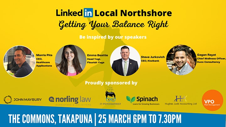 Getting Your Balance Right - Linkedin Local Northshore image