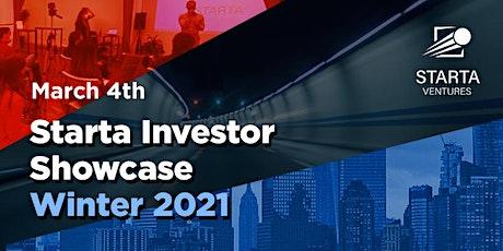 Starta Investor Showcase Winter 2021 tickets