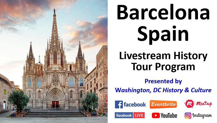 Barcelona, Spain - Livestream History Tour Program image