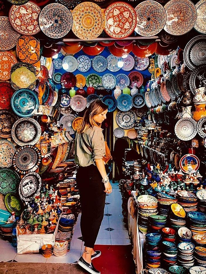 Marrakech City Tour with Tea Break - Virtual Live Guided Experience image