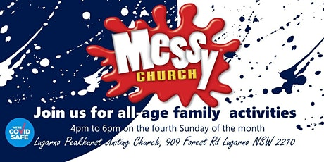 Messy Church at Lugarno NSW tickets