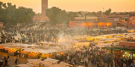 Marrakech City Tour with Tea Break - Virtual Live Guided Experience tickets