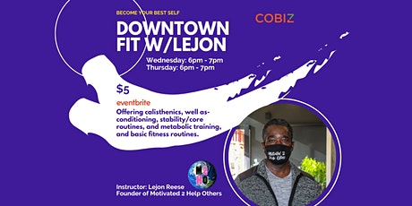Downtown Fit with  Lejon tickets