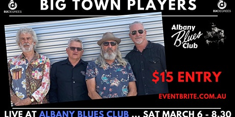 Albany Blues Club presents The Big Town Players LIVE at Six Degrees tickets