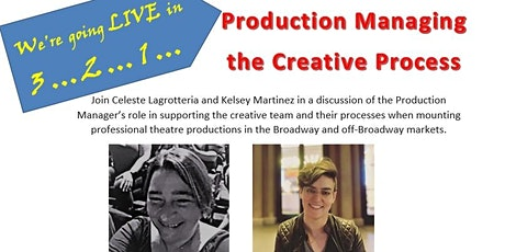 SLT Presents: A Virtual Workshop: Production Managing the Creative Process tickets