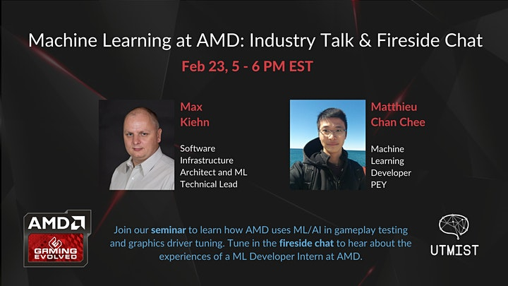 UTMIST  x AMD: How Machine Learning Transforms Gaming Experiences image