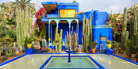 Virtual Live Tour of Jardin Majorelle Garden in Marrakech tickets