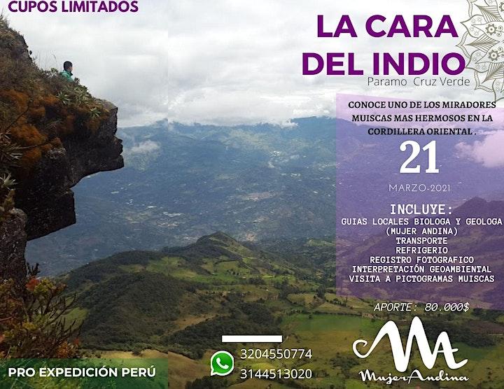 Imagen de SENDERO MUISCA- LA CARA DEL INDIO