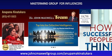 MasterClass for Influencers - How Successful People Think ZNDKIN tickets