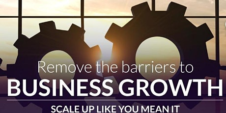 Scaling Up Business Growth Workshop - Virtual/Melbourne - 16th March 2021 tickets