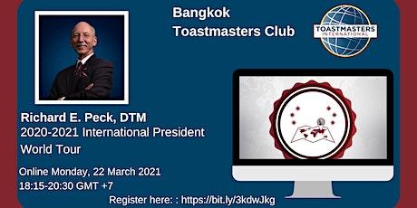 2020-2021 International President World Tour tickets