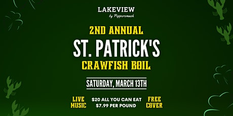 The Colony's St. Patricks Day Crawfish Boil tickets
