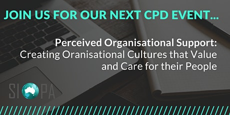 Perceived Organisational Support: Creating Cultures that Value and Care tickets