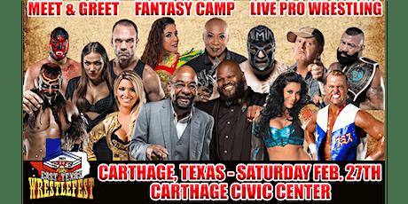 SWE FURY  East Texas Wrestlefest tickets