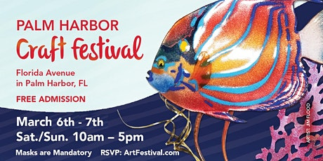 5th Annual Palm Harbor Craft Festival tickets