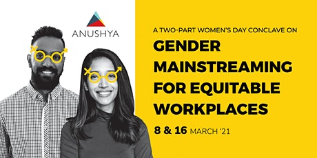 Gender Mainstreaming for Equitable Workplaces Conclave tickets