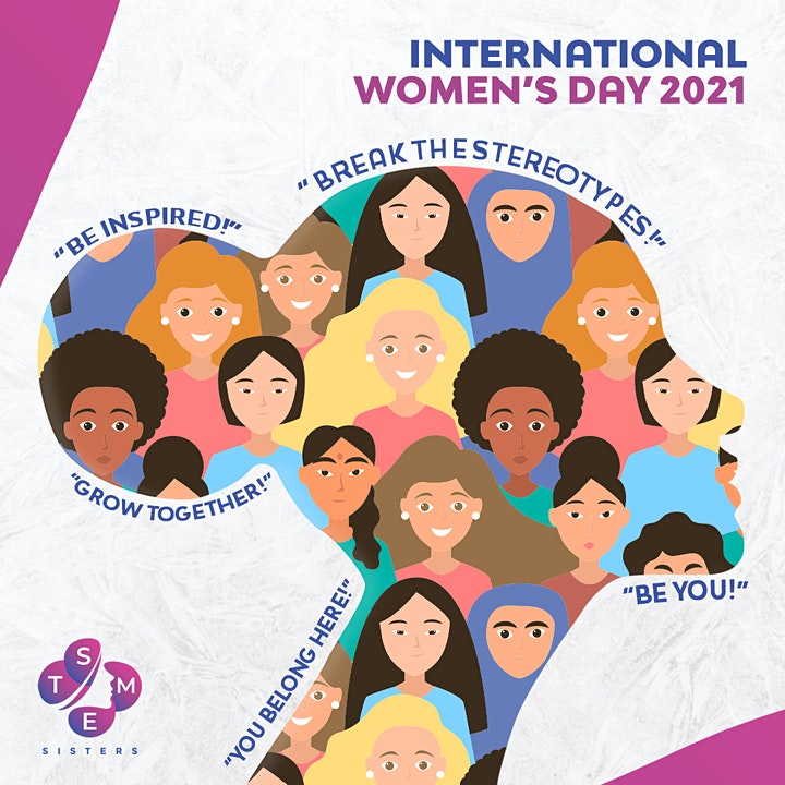 International  Women's Day - 2021 with STEM Sisters image