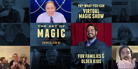 The Art of Magic Online: Virtual Magic Show for Families and Older Kids tickets