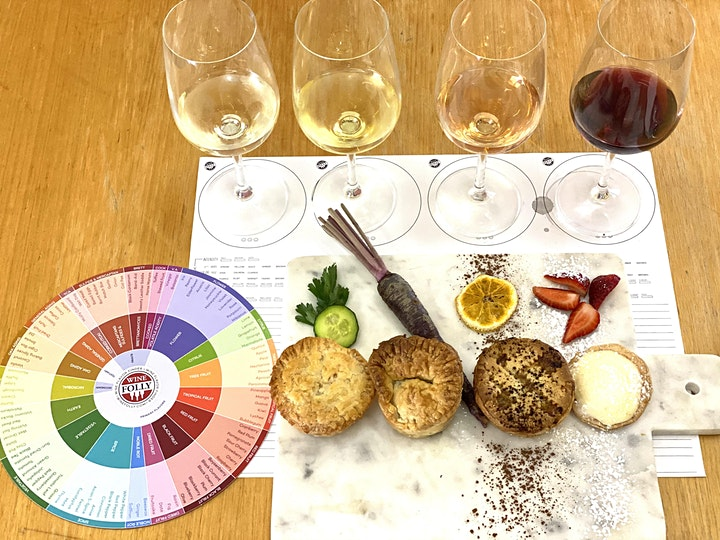 American Bbq Pie And Wine Pairing (Sat and Sun) image