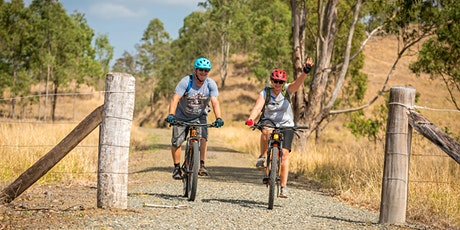 Brisbane Valley Rail Trail fully supported 3-Day Cycling Tour - June 2021 tickets