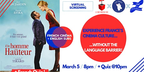 Virtual Movie Night #15: « Up For Love »  + French quiz! tickets