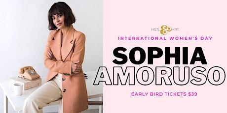 International Women's Day keynote virtual talk:  Sophia Amoruso tickets