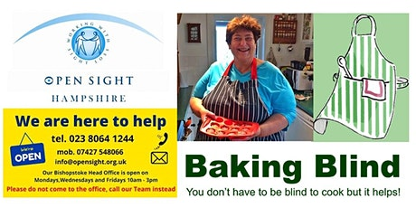 Baking with Penny for visually impaired & blind people tickets