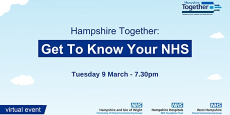 Get To Know Your NHS tickets