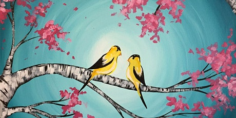 Virtual Paint & Sip: Two Songbirds tickets