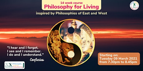 Course in  PHILOSOPHY FOR LIVING tickets