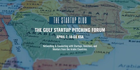 The 1st Gulf Startup Pitching Forum tickets