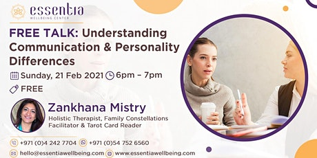 Free Talk: Understanding Communication & Personality tickets