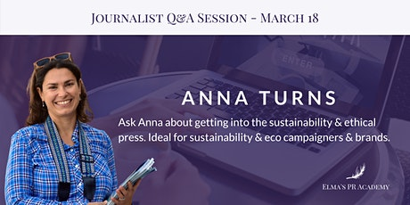 CANCELLED - Meet the Journalist with Anna Turns tickets