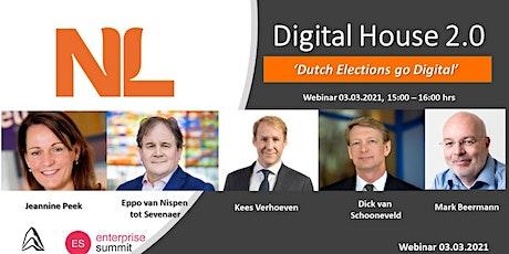 NL Digital House 2.0 - Webinar 'Dutch Elections go Digital' tickets