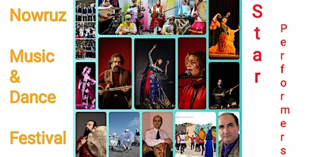 Nowruz Music & Dance Festival D2 Star Performers tickets