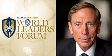 2021 World Leaders Forum presents General Petraeus - Postponed tickets