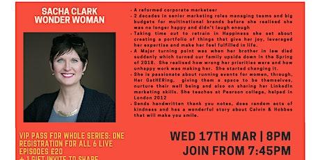 Inspiration Point  Series 3 Episode 2: Sacha Clark - Wonder Woman tickets