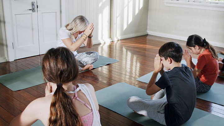 Willow and Migaloo Kids Yoga 3