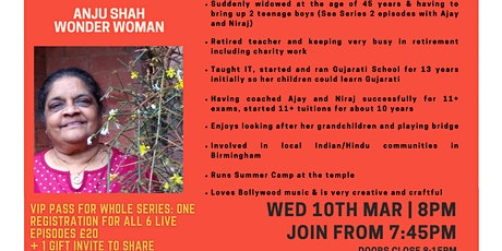 Inspiration Point  Series 3 Episode 1: Anju Shah - Wonder Woman tickets