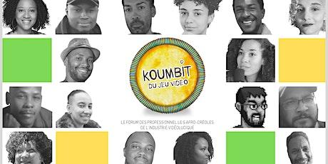 KOUMBIT DU JEU VIDEO // le forum des professionnel·le·s afro créoles du JV billets
