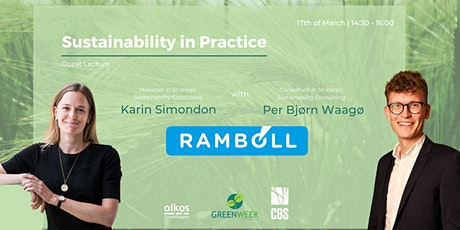 Green Week x Rambøll Management Consulting: Sustainability in Practice tickets