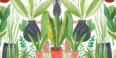 Watercolour Jungle  (Online class) tickets