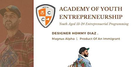 Academy of Youth Entrepreneurship Fashion Design Workshop tickets