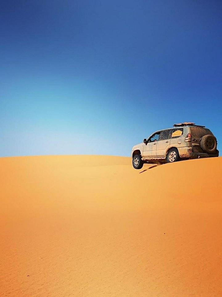 Explore Merzouga Desert Dunes in Morocco - 100 % Live Virtual Tour image