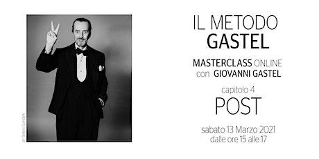 Il Metodo Gastel - Post Produzione biglietti