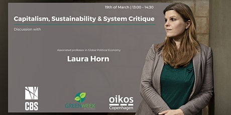 Green Week x Laura Horn: Capitalism, Sustainability & System Critique tickets