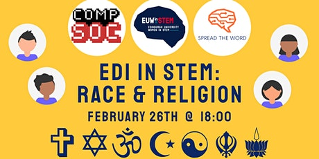 EDI in STEM: Race and Religion – Workshop tickets
